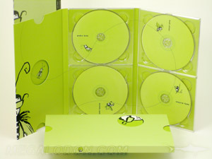 custom cd multidisc set packaging slipcase die cuts