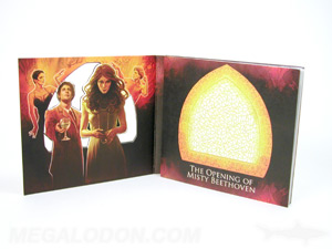custom cd packaging die cut lettering digipak